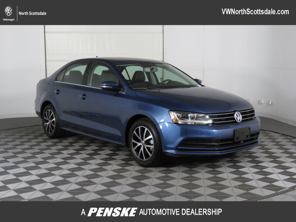 Certified Pre Owned 2017 Volkswagen Jetta 1 4t Se Automatic
